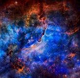 美丽的星系 美国航空航天局装备的这个图象的元素 免版税库存照片