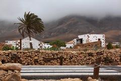 美丽的景色和传统建筑学在加那利群岛,西班牙 库存图片
