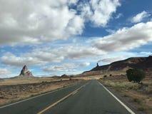 美丽的景色在西部犹他 库存照片