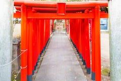 美丽的木寺庙 库存图片