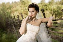 美丽的未婚妻 图库摄影