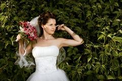 美丽的未婚妻 库存图片