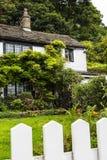 美丽的村庄在Pott Shrigley,彻斯特,英国小村庄  库存照片