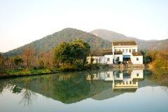 美丽的村庄 图库摄影