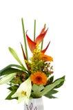 美丽的束花瓶 免版税图库摄影