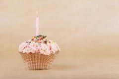 美丽的杯形蛋糕 库存照片