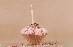 美丽的杯形蛋糕 免版税库存照片