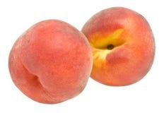 美丽的桃子 免版税库存图片
