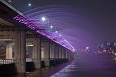 美丽的桥梁南的韩国 库存照片