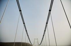 美丽的桥梁在冰岛 桥梁高视阔步 库存照片