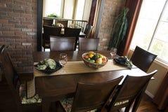 美丽的椅子餐桌 免版税库存照片