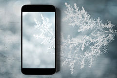 美丽的概念礼服女孩纵向佩带的空白冬天 免版税库存照片