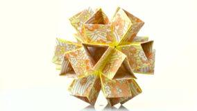 美丽的模件origami花 皇族释放例证