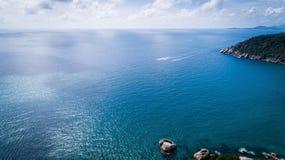 美丽的横向海运 库存图片