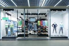 美丽的欧洲商店窗口 免版税库存照片