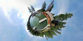 美丽的水世界 免版税库存照片