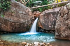 美丽的水在柬埔寨在亚洲东南部 库存图片
