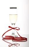 美丽的水晶觚酒 免版税库存照片