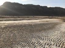 美丽的沙漠 库存照片