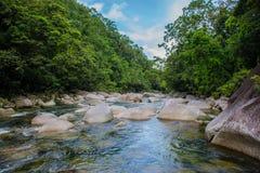 美丽的河 库存照片