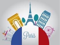 美丽的法国 免版税库存图片