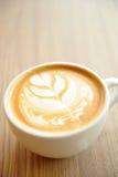 美丽的泡沫咖啡 库存照片