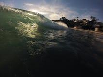 美丽的波浪 库存照片