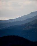 美丽的泰国山 免版税库存照片