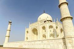 美丽的泰姬陵,在阿格拉,印度 免版税库存图片