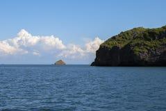 美丽的海和云彩酸值Lipe 免版税库存照片