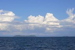 美丽的海和云彩酸值Lipe 库存照片