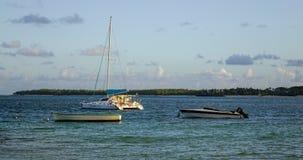 美丽的海在盛大白鹅,毛里求斯 免版税库存图片