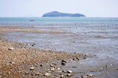 美丽的海岛韩国 免版税图库摄影