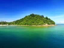 美丽的海岛 库存照片
