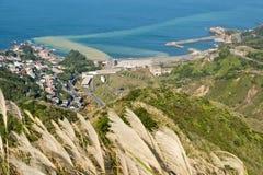 美丽的海岸在台湾 库存图片