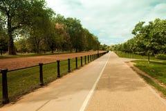 美丽的海德・伦敦公园 免版税库存照片