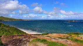 美丽的海湾在澳大利亚 免版税库存照片