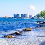 美丽的海湾 库存图片
