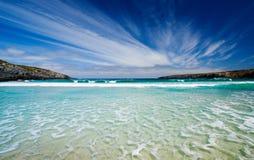 美丽的海湾 免版税图库摄影