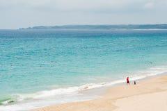 美丽的海滩在Kenting 库存照片