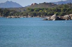 美丽的海运岩石 免版税库存照片