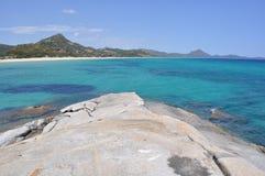 美丽的海运礁石 库存图片