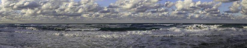 美丽的海运(全景) 库存照片