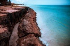 美丽的海洋在Caribe 图库摄影