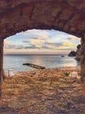 美丽的海滩布德瓦,黑山 图库摄影