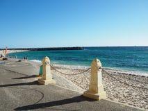 美丽的海滩沙子 免版税库存图片