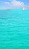 美丽的海洋绿松石 库存图片