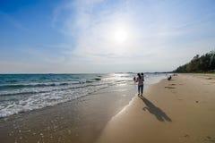 美丽的海滩03 库存图片