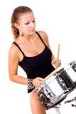 美丽的深色的鼓圈套 免版税库存照片