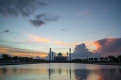 美丽的清真寺在泰国 免版税库存照片